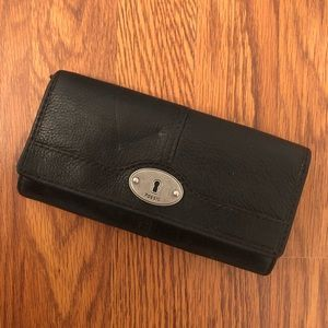 Fossil | Black Leather Wallet